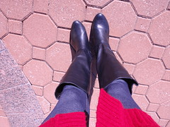 Leggings plus Boots (Rosiecat_LLF) Tags: hello me its again october282012set2