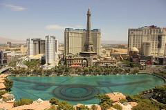 Bellagio Fountain & Paris Casino, Las Vegas