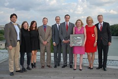 "DC Habitat Proudly Accepting the Mayor's 2012 Sustainability Award • <a style=""font-size:0.8em;"" href=""http://www.flickr.com/photos/89365820@N03/8135855696/"" target=""_blank"">View on Flickr</a>"