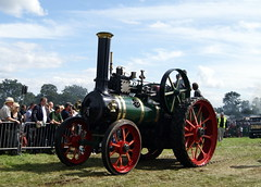 BD5525 Marshall Traction Engine 8NHP (chrisbell50000) Tags: park old vintage shropshire rally traction engine steam marshall shrewsbury preserved 2012 onslow salop 8nhp countyofsalopsteamenginesociety bd5525 chrisbellphotocom