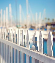 Happy Fence Friday {Safe in the Harbour} Edition! (pixelmama) Tags: california harbor sandiego pacificocean sailboats whitepicketfence hff laplayayachtclub fencefriday pixelmama ashipintheharborissafe butthatisnotwhatshipsarebuiltfor