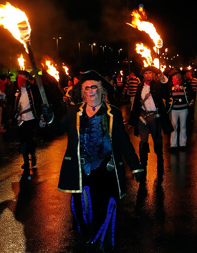 Seaford bonfire society procession