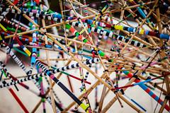 Sydney Sculpture Walk (Tom Coates) Tags: art sticks stripes sydney pickupsticks