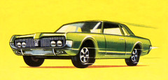 "Matchbox Lesney Toys ""Box Art Work"" Mercury Cougar No.62 - 3 Of 109 (Kelvin64) Tags: toys mercury cougar matchbox lesney boxartwork no62"