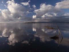 Clouds (da.geli) Tags: italy lake reflection water clouds umbria trasimeno mygearandme mygearandmepremium mygearandmebronze ruby5 bestevercompetitiongroup