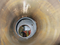 Inside a cylinder (ohefin) Tags: old nikon thomas engine steam bach cylinder coolpix coal quarry dinorwic waster wildaster hunslet l26