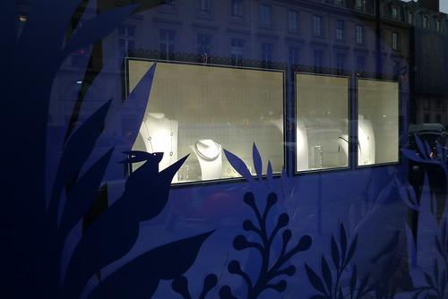 Vitrines de Noël Christofle - Paris, décembre 2012