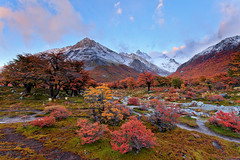 Thousands miles away (Helminadia Ranford) Tags: travel autumn camp fall argentina colors landscape photography hiking helminadia pointcenot