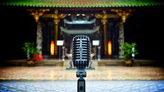 The Ancient and the Classic [explored] (Splice Studios Singapore) Tags: usa classic rock vintage temple pagoda ancient singapore chinatown bokeh mosaic mosaictiles stage buddhist elvis voice buddhism courtyard rockroll sound microphone cbd 20mm hip mic 55 audio buddhisttemple taoist nationalmonument spokenword taoism centralbusinessdistrict kenn splice shure sounddesign thianhockkengtemple dontsteal taoisttemple shure55sh madeintheusa sh55 soundsgood donotsteal voiceovers thianhockkeng shure55 vintagemicrophone askpermission 55sh audiopost givecredit delbridge shuresh55 20mmf17 lumix20mmf17 kenndelbridge splicestudios