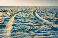 Covering your tracks (R.Price) Tags: snow cold ice rural landscape landscapes tracks freeze wiltshire scape scapes snowscape goldenlight