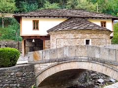 Etara bridge (villy_yovcheva) Tags: park old travel bridge trees light summer brown white building tree green tourism nature water horizontal stone rural forest river garden walking landscape outdoors grey wooden ancient arch crossing natural hiking path stones traditional country scenic culture pedestrian scene front calm hike foliage walkway romantic environment picturesque tranquil pathway mygearandme photographyforrecreation