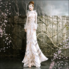 AD Creations - Anna Gown (Anna Sapphire) Tags: fashion secondlife mvw missvirtualworld adcreations juliehastings alizakaru annasapphire