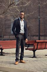 Mike Gayden (Evano Gucciardo) Tags: light portrait newyork men fashion nikon shoes natural guys class rochester clothes clean suit mensfashion blazer dressy tone classy d800 menswear