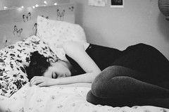 (thisisforlovers) Tags: bw woman girl photography sadness 50mm bed mujer solitude loneliness chica dress room bn soledad 18 cama habitación vestido
