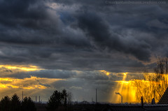 Stormy day (mlphoto) Tags: trees light sunset sky cloud sun sunlight house color tree industry nature colors clouds germany landscape deutschland licht sonnenuntergang sundown pentax natur himmel wolke wolken haus spotlight explore sunrays landschaft sonne dach farbe bume sonnenaufgang industrie baum hdr sonnenstrahlen sunbeams k5 lightroom huser sonnenschein leverkusen sonnenlicht photomatix lr4 mlphoto pentaxk5 lightroom4 mlphoto markuslandsmannzenfoliocom markuslandsmann mlandsmann