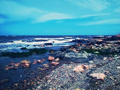 rocks, rocks everywhere (nmartello) Tags: sea water rock uruguay montevideo rocas piedras playaverde