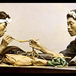 JAPANESE PIPE SMOKERS -- Isolating Photo Elements for Blogging and Craft Work thumbnail