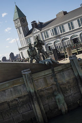 Les marins marchands (Djof) Tags: tatsunis unitedstates us usa newyork newyorkcity manhattan ny nyc batterypark americanmerchantmarinersmemorial statue marins sailors mariners art