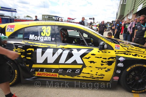 Adam Morgan in Touring Car action during the BTCC 2016 Weekend at Snetterton