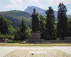 (Sonya Gencheva) Tags: vratsa vratza hristobotev monument square city bulgaria travel roadtrip balkan mountain lone