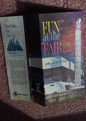 Fun at the Fair 1964-1965 Futurama - IMGP3504 (catchesthelight) Tags: peacethroughunderstanding worldsfair worldsfairgrounds ny nyc queens unisphere flushingmeadownewyork newyorkworldsfairsouvenirbooklet 1960s advertising copyrighted 196465nyworldsfair nywf souvenirs buildings miniphotos handheldshots notscans 19641965 communications picturephones futuristic
