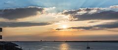 IJmuiden Sky (tribsa2) Tags: nederlandvandaag marculescueugendreamsoflightportal weatherphotography cloud clouds wolken wolk sunset sky seaside seascape sunrisesunset shoreline sea