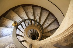 Bernini's spiral staircase (Seoirse) Tags: bernini spiral staircase travertine