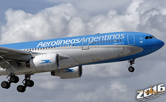 Aerolineas Argentinas | Airbus | A330-223 | LV-FNI | S/N:290 (Winglet Photography) Tags: plane airplane aircraft airline airlines airliner jet jetliner flight flying aviation travel transport transportation spotting planespotting georgewidener georgerwidener stockphoto wingletphotography canon 7d dslr miami florida mia kmia fl 2016 south airport aerolineasargentinas airbus a330223 290 lvfni