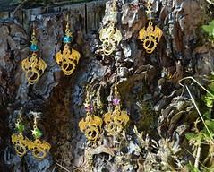 DSC_0160-1 (Chaumurky) Tags: jewelry jewellery bijoux fantasyjewelry dragon earrings dragonearrings dragonjewelry