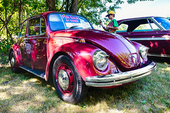 1968 VW Beetle (hz536n/George Thomas) Tags: deer acres 2016 cs5 canon canon5d ef1740mmf4lusm hdr michigan pinconning summer vw volkswagen carshow copyright linwood nik upnorth beetle deeracres