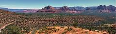 Cathedral rock  panorama (another_scotsman) Tags: arizona panorama sedona landscape cathedralrock