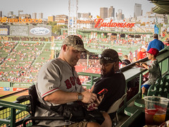 Red Sox fans (hickamorehackamore) Tags: 2016 august boston fenway fenwaypark ma massachusetts redsox redsoxvsyankees yankees baseball summer