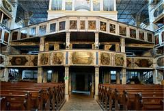 old wooden church.......... (atsjebosma) Tags: church wooden kerk hout organ orgel paintings beschildering polan jawor unesco vredeskerk atsjebosma summer 2016 august augustus architectuur