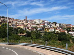 Approaching Gavoi, land of pecorini cheese (Carneddau) Tags: gavoi italy sardinia approaching fromcar sardegna