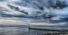 Light House (VSNS) Tags: lighthouse clouds aberdeen scotland uk beach morning