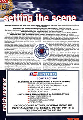 Dundee vs Rangers - 2000 - Page 6 (The Sky Strikers) Tags: dundee rangers scottish premier league spl bank of scotland dens park matchday magazine one pound fifty
