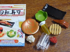 Box 6 of Petit Sushi Go Round Re-ment set (lyndell23) Tags: rement sushi miniature miniaturefood playfood