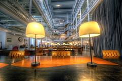 Bibliothèque et Archive Nationale du Québec, BANQ (CloudPhotoz) Tags: bibliothèque archive nationale quebec québec montreal montral city ville hdr