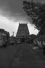 Natchiyar Kovil near Kumbakonam (Yesmk Photography) Tags: nachiyarkovil temple hindu blackandwhite bw yesmk muthukumar daylight outdoor olympus xz1 pilgrimage perumal vishnu nachiyarkoil kumbakonam tanjore tamilnadu india
