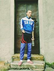 LUP85888484FG84GXF (Lupin Nikolaev) Tags: lupin4th male model actor hot dude skinny skinhead scally lascar lad slav russian feet socks squatting