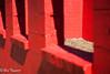 Dirt Floow with Red and Black (flymarinesch46) Tags: red shadow black bricks oldbuilding cinderblock northcarolina southern stairs depthoffield unitedstates minimalism bright color vivid contrast