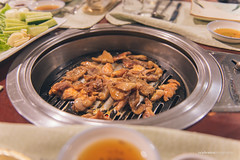Korean BBQ (reubenteo) Tags: northkorea dprk food lunch dinner steamboat kimjongun kimjongil kimilsung korea asia delicacies