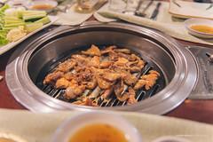 Korean BBQ (reubenteo) Tags: northkorea dprk food lunch dinner steamboat kimjongun kimjongil kimilsung korea asia delicacies