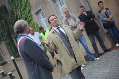 Inauguration de la rue de la Porte-Saint-Martin  Thoiry (Conseil dpartemental des Yvelines) Tags: pierrebdier comtepauldelapanouse gendarmerie gendarme mairiedethoiry ruedelaportesaintmartinthoiry franoismoutot