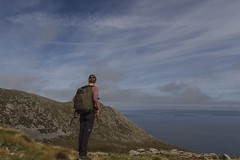 Deep in thoughts but not lost (A blond-Tess) Tags: nature landscape perspective scotland scottish scottishmountains landscapethoughtfulrelaxedview point arran hiking hike uk dreamer