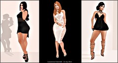 #81 - Black an white?  Thats my style!!! (Lucianna Emerald) Tags: akouly awear baubles clockhaus daydreamer exile goldsquare kosmetik mm outletsl radex roc supernatural tfc tlb trendz we3roleplay wetcat ym