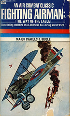 Novel-Fighting-Airmen-The-Way-of-the-Eagle-by-Charles-Biddle (Count_Strad) Tags: novel cover art coverart book western scifi wwii