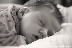 Ruby Ellen (linda_mcnulty) Tags: sleeping blackandwhite bw baby cute girl monochrome sepia sleep naturallight babygirl newborn newbaby