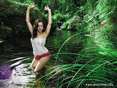 relax (Isidr☼ Cea) Tags: girl rio river chica modelo fantasía laira wwwisidroceacom
