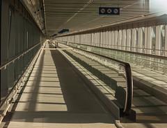 The one on the left (katrin glaesmann) Tags: germany hannover lang skywalk expo2000 movingfloor fluchtpunkt rollband mittigkonntemannichtsteheno photowalkwithkeid unterwegsmitkeid schulitzpartnerbraunschweig